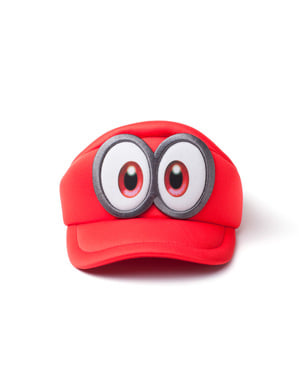 Super Mario Odyssey eyes cap for boys