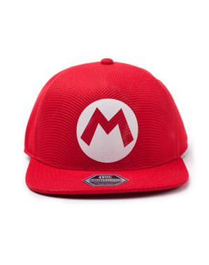 Boné de Mario - Super Mario Bros