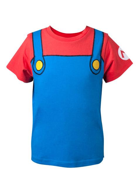 Camiseta de Mario Bros para niño - Super Mario Bros