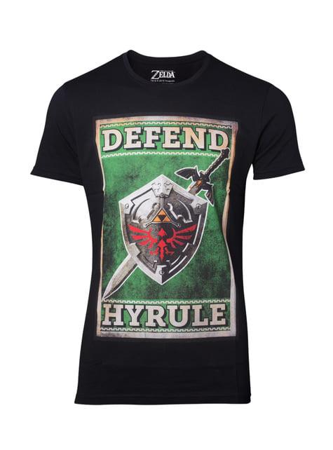 Camiseta de La Leyenda de Zelda Defend Hyrule para hombre