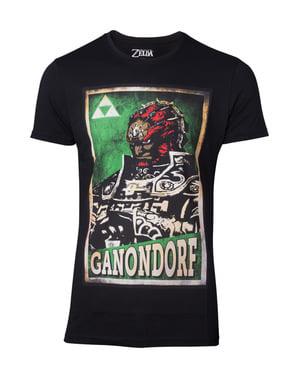 T-shirt Ganondorf vuxen - The Ledgend of Zelda