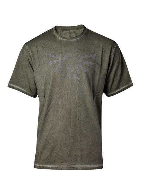 Legend of Zelda Triforce Vintage T-Shirt voor mannen