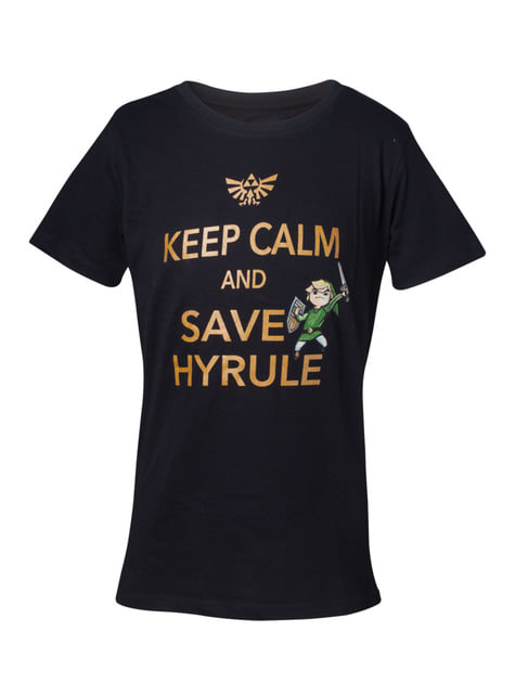 T-shirt The Legend of Zelda Save Hyrule garçon