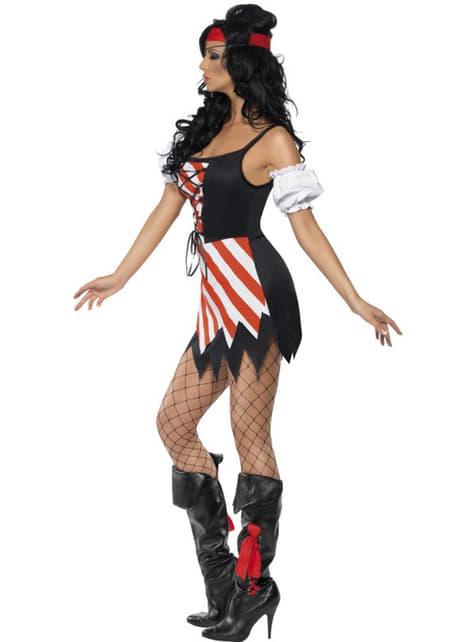 Disfraz de corsaria Fever para mujer - traje