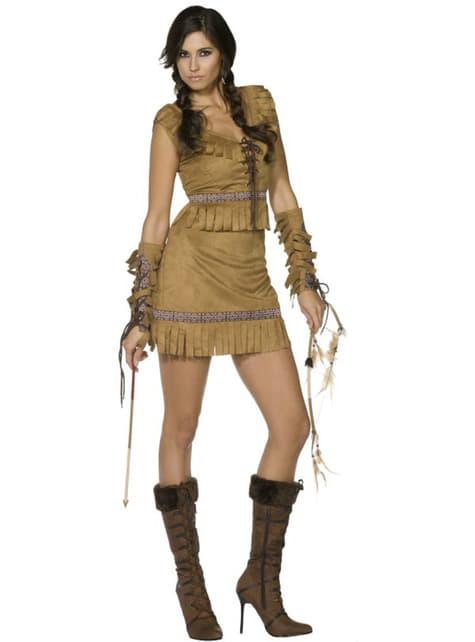 Mädchen aus dem Volksstamm Kostüm Fever