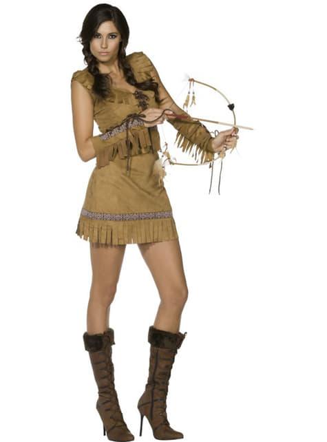 Disfraz de chica de tribu Fever - mujer