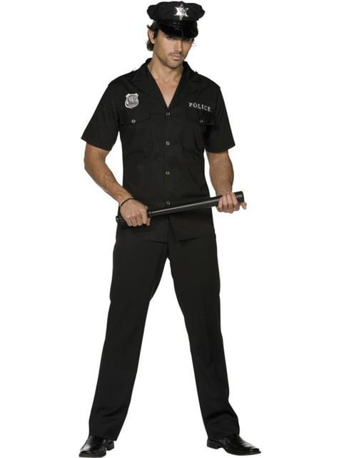 Costume da poliziotto Fever da uomo