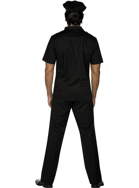 Disfraz de poli Fever para hombre