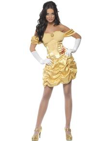 Disfraz de princesa dorada Fever para mujer