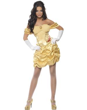 Goldene Prinzessin Kostüm Fever für Damen