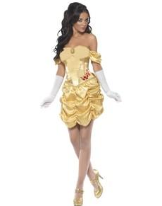Goldene Prinzessin Kostüm Fever