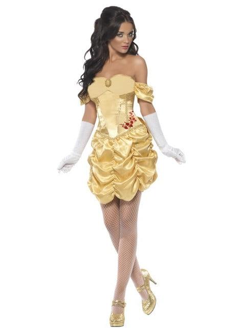 Disfraz de princesa dorada Fever para mujer - mujer