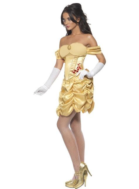 Disfraz de princesa dorada Fever para mujer - traje