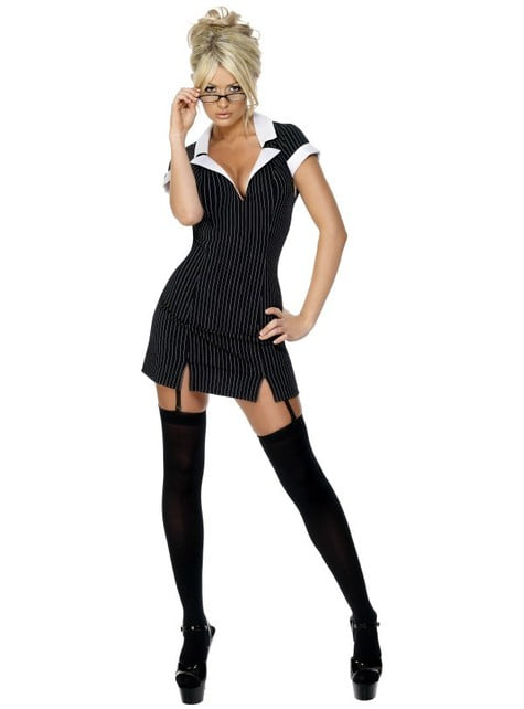 Fever Sekretær Kostyme