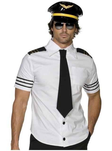 Pilóta jelmez férfiaknak
