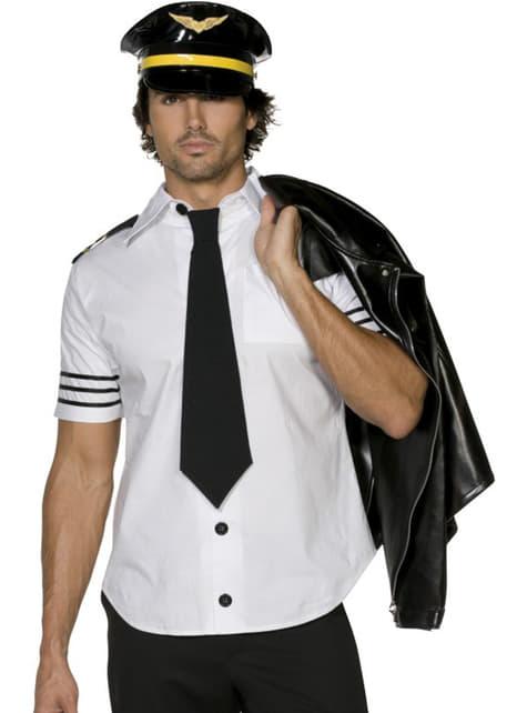 Disfraz de aviador Fever para hombre - hombre
