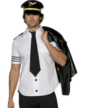 Pilot Kostume til Mænd
