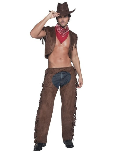 Fato de cowboy Fever para homem
