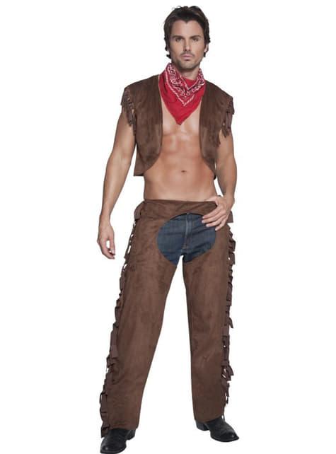 Fever seksikäs cowboy asu aikuiselle