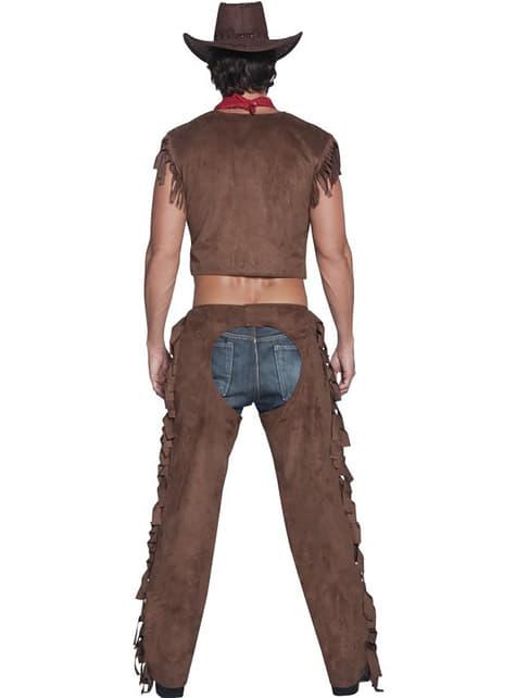 Kostým pro dospělé sexy kovboj