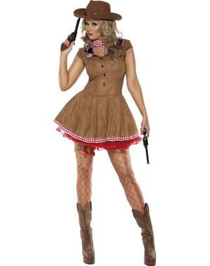 Лихоманка сексуальний Gunwoman дорослих костюм