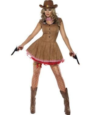קדחת סקסית Gunwoman תלבושות למבוגרים