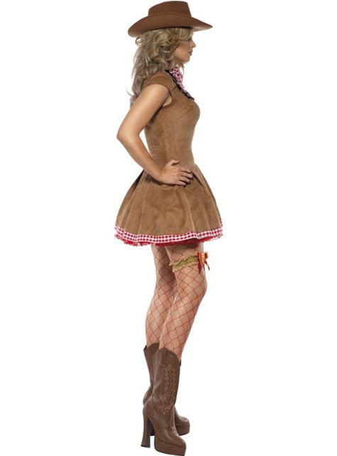 Cowgirl sexy kostume