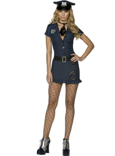 Ungezogene Polizistin Kostüm Fever