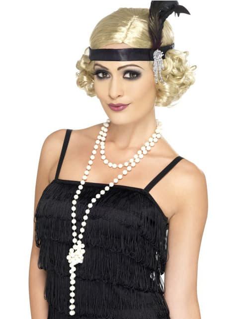 Náhrdelník perlový dlouhý
