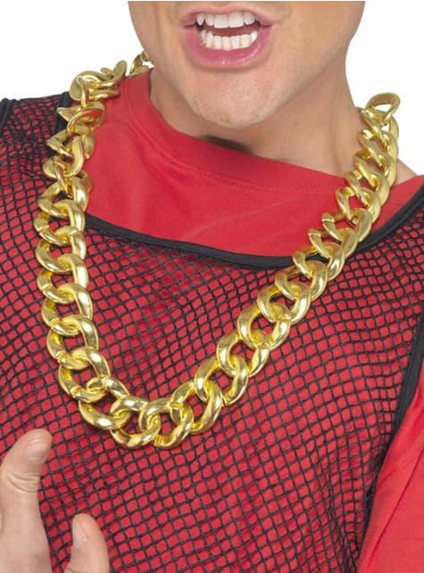Náhrdelník so zlatou retiazkou