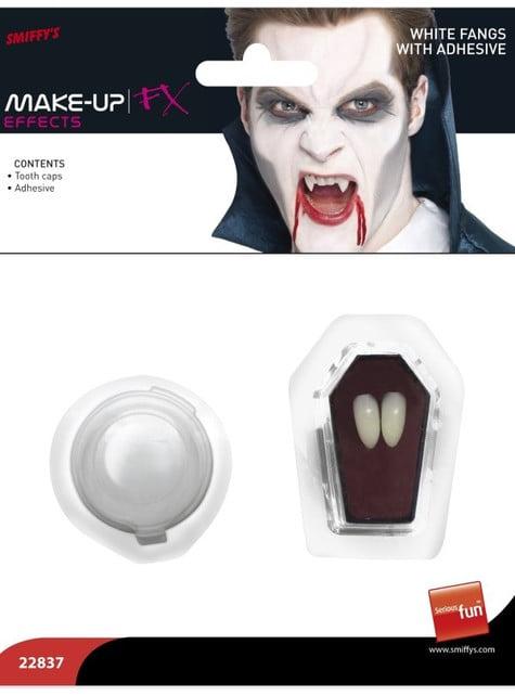Colmillos de vampiro deluxe - para tu disfraz