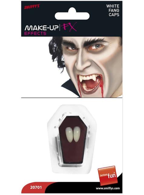 Colmillos de vampiro afilados - para tu disfraz
