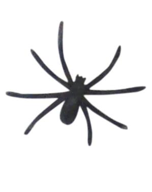 Spinnenweben Dekoration mit Spinnen