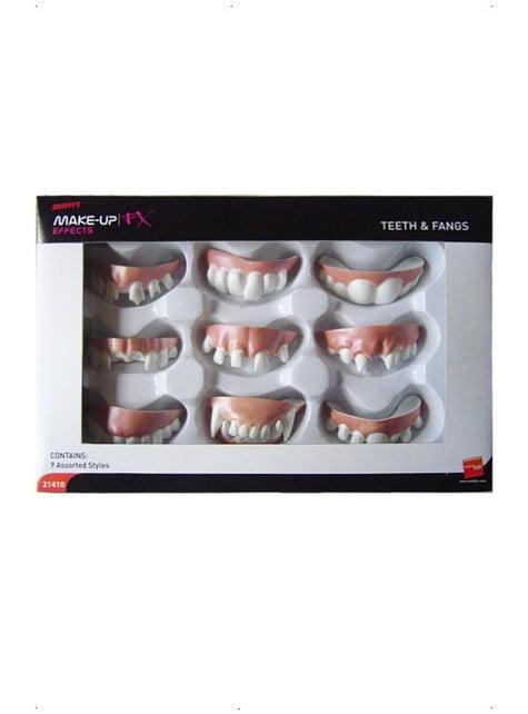 Conjunto de dentaduras