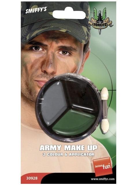 Maquillaje militar - para tu disfraz