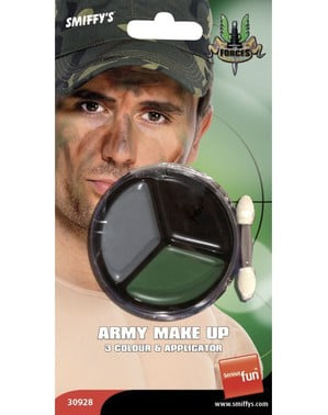 Makijaż militarny