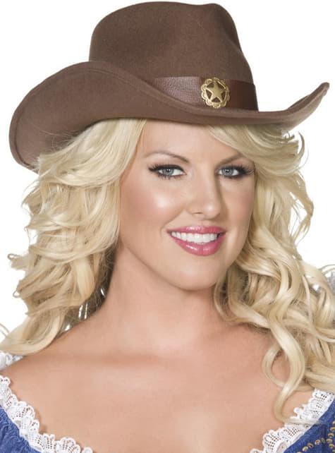 Sombrero vaquero Fever - para tu disfraz
