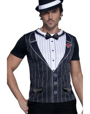 Tricou de gangster pentru bărbat