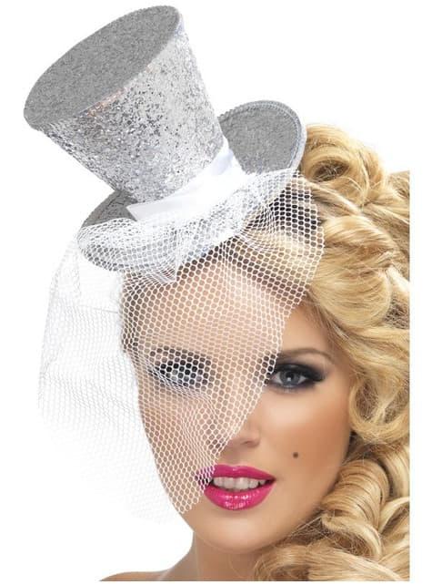 Petit chapeau argenté Fever