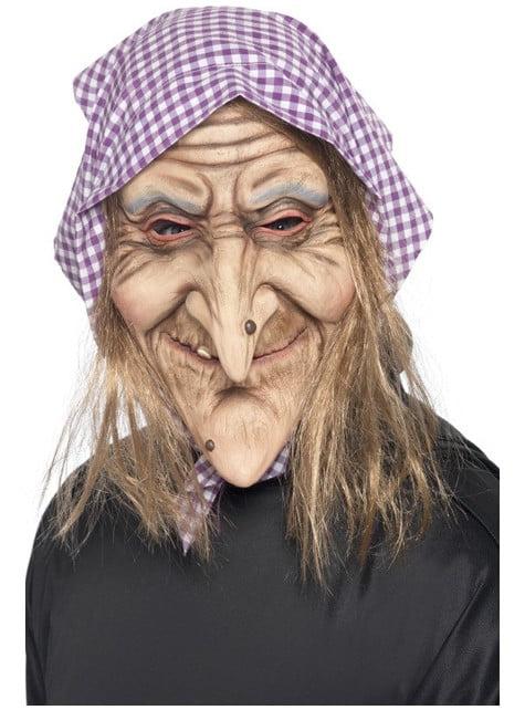 Maska stará čarodějnice
