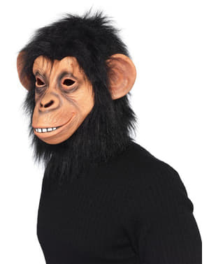 Maschera da scimpanzè