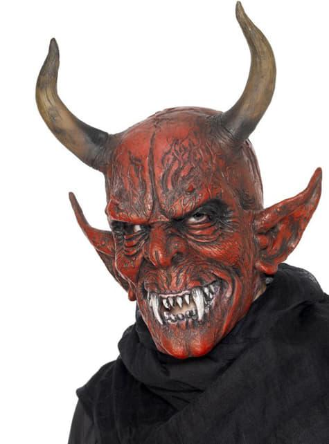 Maska děsivý démon Krampus deluxe