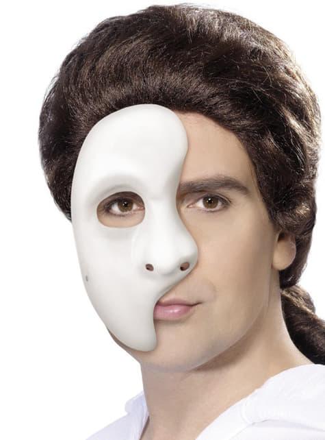 Maska na pół twarzy widmo