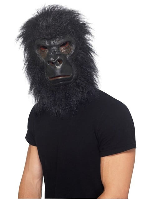 Черна горилна маска