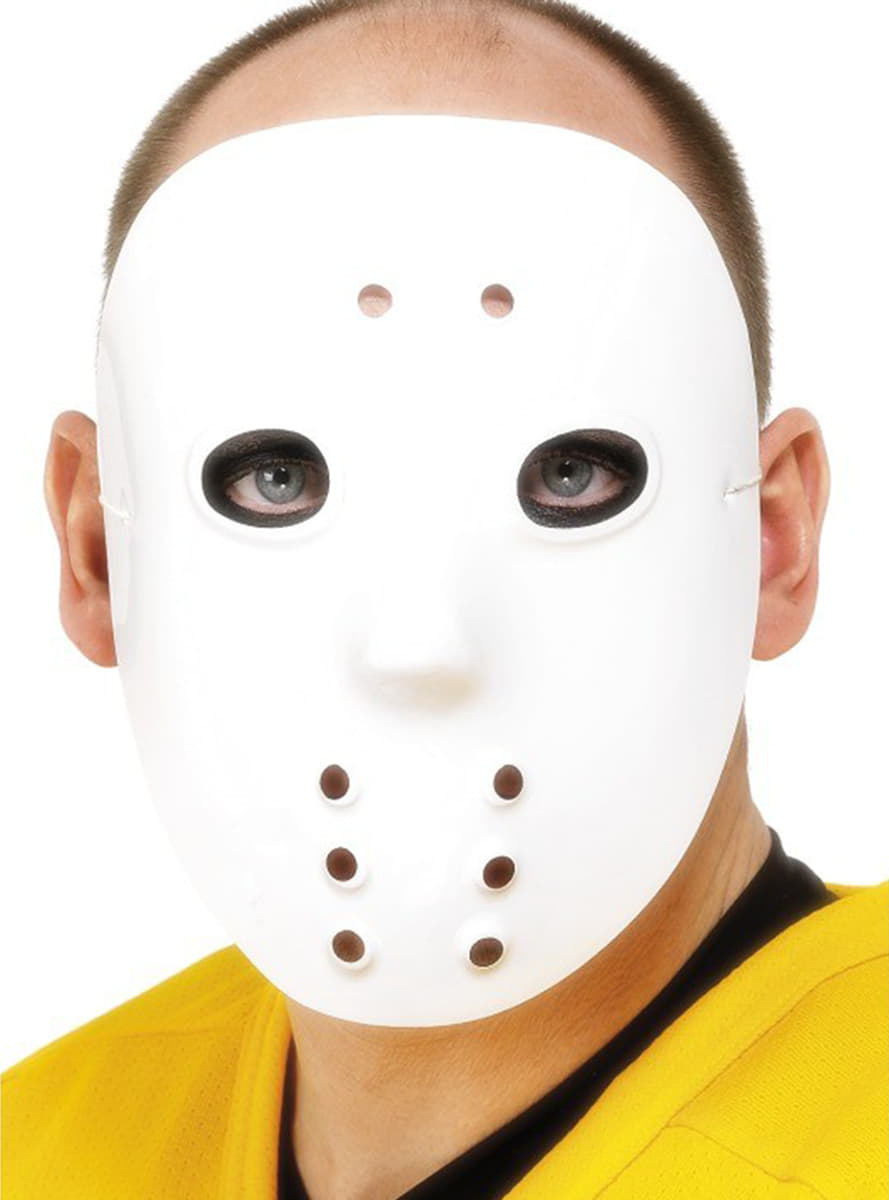 White Hockey Mask: buy online at Funidelia.