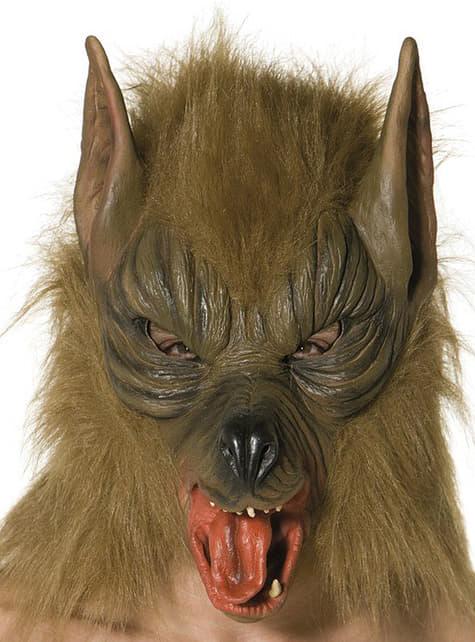 Maska vlk hnědá