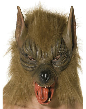 Brun varg Mask
