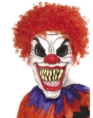 Моторошний клоун-маска