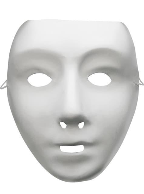 Máscara básica blanca