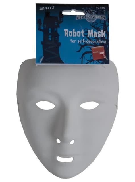 Máscara básica blanca - para tu disfraz